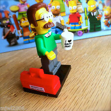 LEGO 71005 THE SIMPSONS Minifigures NED FLANDERS #7 SEALED Minifigs Series 1