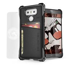 Ghostek Exec Slim Leather TPU ID Credit Card Holder Wallet Case Cover For LG G6