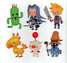 Set of 6 Final Fantasy - BRAND NEW - Cute Embroidered Patch XV VII 15 7