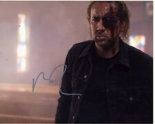 [1918] Nicolas Cage DRIVE ANGRY Signed 8x10 Photo AFTAL