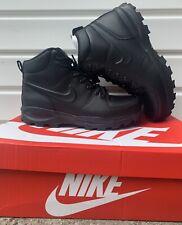 Nike ACG Manoa Leather Triple Hiking Sz 11 Black 454350-003 Men's Boots Shoes