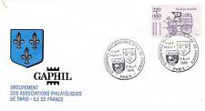 O171 F.D.C GAPHIL 6e congrès philatélique d'ile de France 17 avril 1988