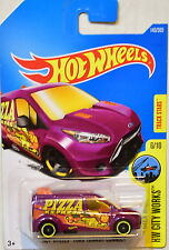 Hot Wheels 2017 Hw City Works Hw Ford Transit Connect