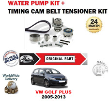FOR VW GOLF PLUS 1.6 2.0 TDi 16V 2005-2013 TIMING CAM BELT KIT + WATER PUMP SET