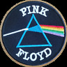 PINK FLOYD DARK SIDE OF MOON PATCH IRON/SEW ON MUSIC ROCK LEGENDS EMBROIDERED