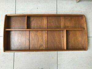 Ercol Windsor Elm Wall Display Unit/Plate Rack 1970's Genuine