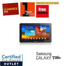 Samsung Galaxy 10.1in Tab 16GB Wi-Fi Metallic Gray with 1-year Warranty Sale!!!