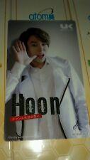 ukiss hoon japan jp OFFICIAL  Photocard  Kpop K-pop