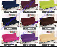 18 Solid Colour Removable Stretch Lounge Covers Sofa Bed Cover Slipcover