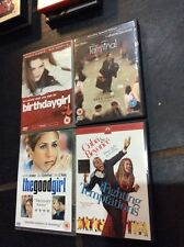 Bundle 4 DVDs BIRTHDAY GIRL, THE TERMINAL, THE GOOD GIRL, FIGHTING TEMPTATIONS