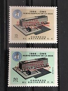 El Salvavador stamp 1968 pharmaceutical Congress MNH