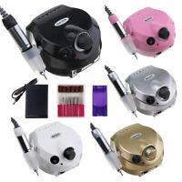 Professional Electric Nail Drill File Bit Machine Manicure Pedicure Kit 30000RPM
