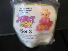 "Muppet Babies ""Miss Piggy With Pink Car"" NIP McDonald's 1987"
