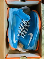 Nike KD V Youth Size 7 Turquoise Pool Party Pre Owned