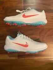 Rare Nike React Vapor 2 Men's Hot Punch South Beach Golf Shoes 9 $175 bv1135-105