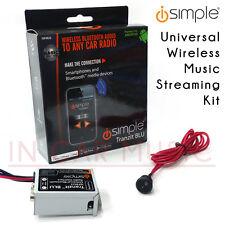 iSimple ISFM23 Universal Radio Bluetooth Car Music Streaming FM Modulator Kit