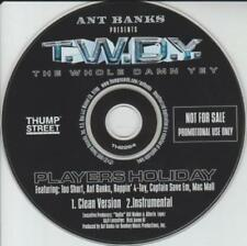 Ant Banks Presents T.W.D.Y. Players Holiday PROMO MUSIC AUDIO CD Too Short 4-Tay
