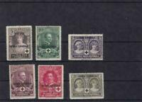 spainish guinea  red cross mounted mint stamps ref r14000