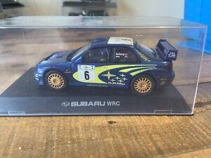 SCALEXTRIC SUBARU IMPREZA WRC SLOT CAR C2362, Boxed, Lights