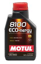 MOTUL OLIO 8100 ECO NERGY 5W30 SINTETICO A5 B5 FORD JAGUAR LAND ROVER RENAULT 1L