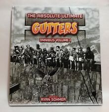 """Absolute Ultimate Gutters Omnibus Volume 1 by Ryan Sohmer 13x14"""" Hardcover NEW!"""