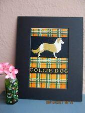 Art Deco Ve Elizabeth Cadie illustration of Collie dog 1925