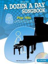 Partitions musicales et livres de chansons contemporains pour Pop et un Piano