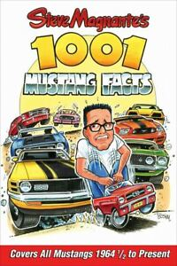 1001 Mustang Facts Book * Fascinating Look at the Ford Mustang FREE USA Shipping