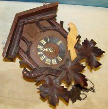 Vtg DEMMLER IMPORTS Mvmt Regula German Cuckoo Clock Germany J214