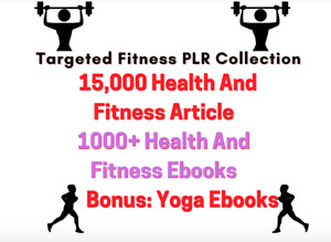 15,000+ Fitness And Health Articles, Diet Plans, Recipes, Yoga digital books