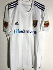 Adidas Authentic MLS Jersey RSL Salt Lake Real Team White sz L