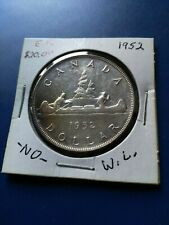 1952 Canadian Silver Dollar ($1), No Reserve!