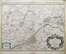 CARTE Sanson Géographe du Roy EVECHE DE CHARTRES, H. JAILLOT