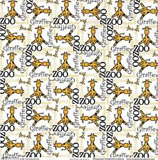 SC - Zoo Giraffe Scrapbooking Paper SET - 1 left, 1 right - 37956 - Baby - Skin