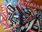 Lot Set of 10 Yamaha Style Stickers Racing Motorcycle Motocross YZ YZF R1 R6 M1