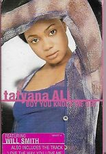 Tatyana Ali feat. Will Smith Boy You Knock Me Out CASSETTE SINGLE Hip Hop House