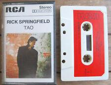 RICK SPRINGFIELD Tao (1985) MC TAPE ORIGINALE RCA – PK 85370