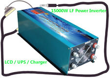 "60000W/15000W LF Pure Sine Wave 24V DC/230VAC Power Inverter 3.5""LCD/UPS/Charger"