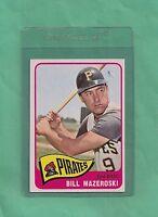 1965 Topps Pittsburgh Pirates Bill Mazeroski # 95 NM-MT Tough Low Pop Card !!!