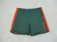 Nike Miami Hurricanes Shorts Adult Medium Green Orange UM Basketball Men 90s