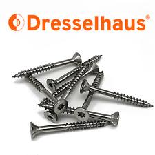 Dresselhaus Spanplattenschrauben Edelstahl V2A Torx Ø 3-6mm Teilgewinde l