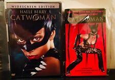 CATWOMAN 2003 film (DVD & Movie Tie-In Book) w/ Halle Berry SEXY Thriller