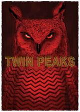 Picos gemelos impresión de arte poster by Simon Carpintero #/75 NT Mondo