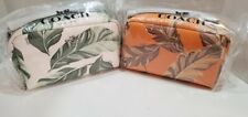 COACH 2638 Boxy 20 Cosmetic Case With banana leaves print  NWT