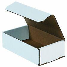 Aviditi White Corrugated Cardboard Mailing Boxes 8 X 6 X 2 Pack Of 50 Crus