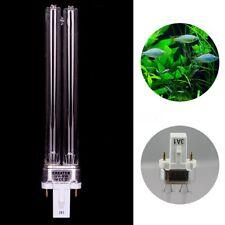 9W Aquarium Fish Tank Germicidal Lamp Uv Sterilizer Canister Filter Y