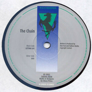 """The Chain – Letting Go / Geo 12"""" R&S RECORDS TECH HOUSE CLASSIC"""