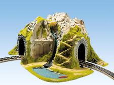 Noch 05170 Échelle H0 Tunnel À Angle 1-gleisig Courbé 41x37cm #