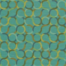 Arc/com Spin Baltic modern contemporary circles Vinyl Upholstery Fabric