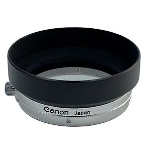 "Canon METAL Hood S-50 50mm ""Exc+++"" For Canon 50mm Lenses. Made In Japan"